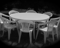 Photo: Table and Chairs